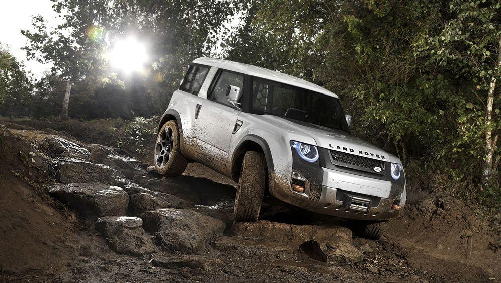 Land-Rover-Studie: Defender für das 21. Jahrhundert