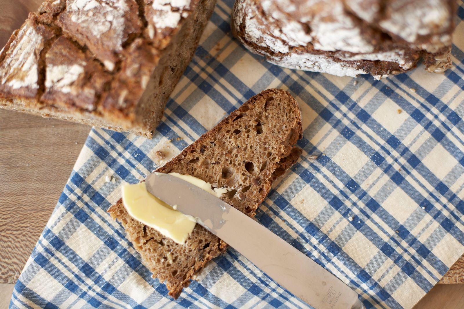 EINMALIGE VERWENDUNG Butterersatz