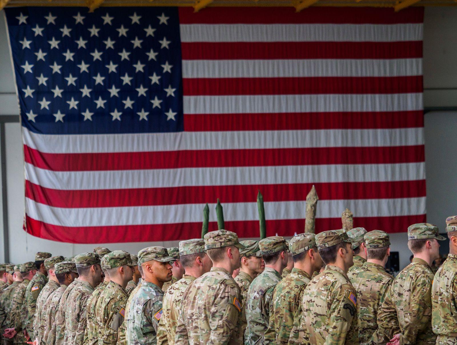 US-Truppen in Deutschland