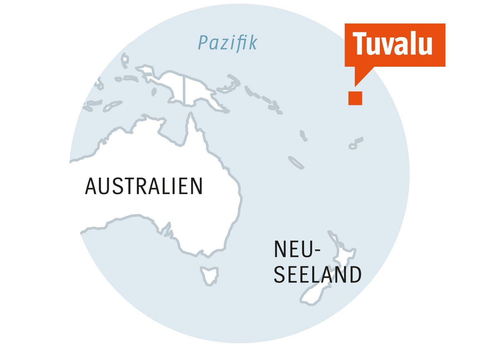 EINMALIGE VERWENDUNG SPIEGEL Plus SPIEGEL 8/2018 S.115 Tuvalu