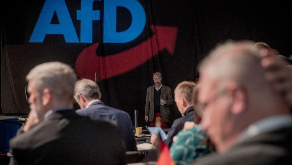 Europa-Parteitag der AfD in Magdeburg