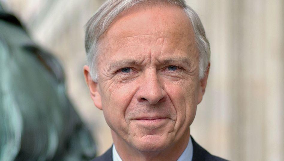 Erich Barke, Präsident der Uni Hannover: Finanzhilfe aus Prof-Vermögen