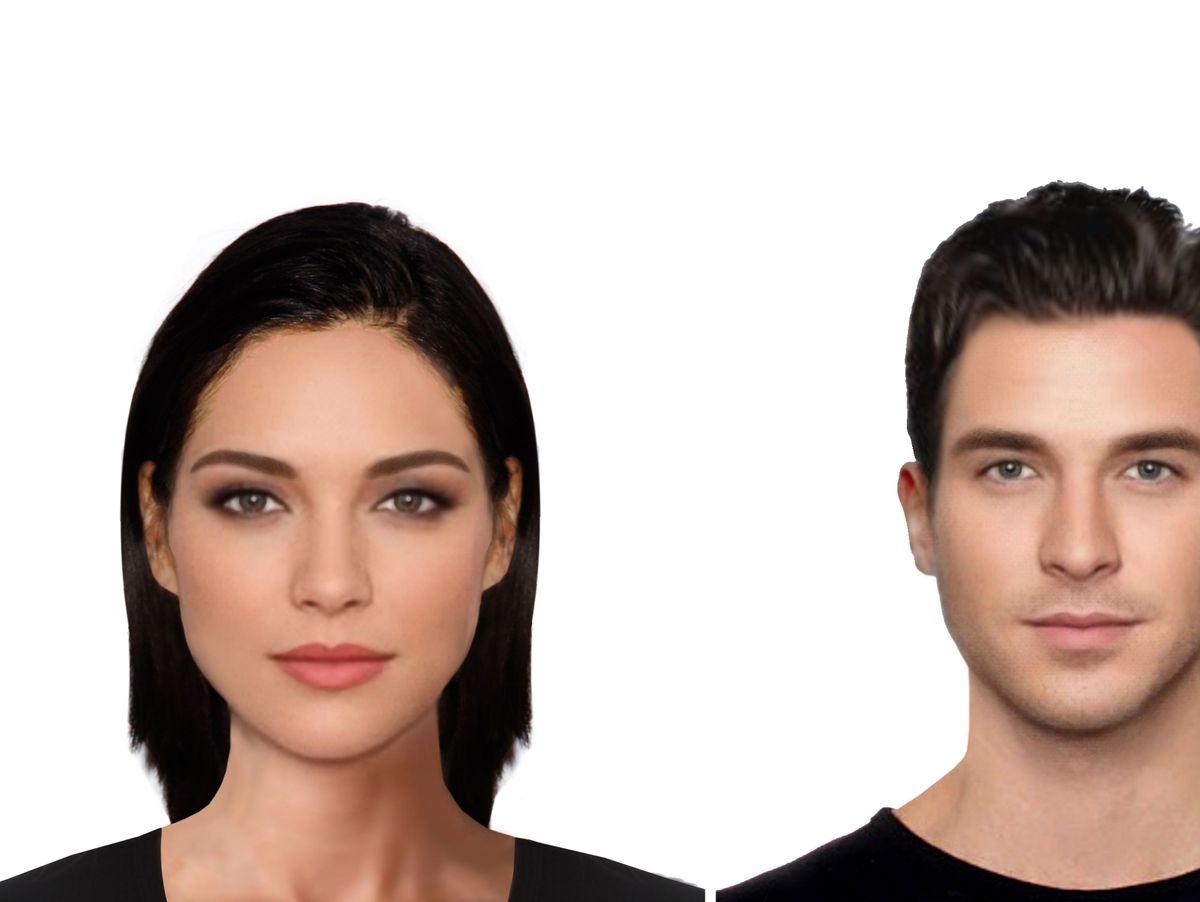 Schönheits-Forschung: Wer hat das schönste Gesicht (Fotos) - DER