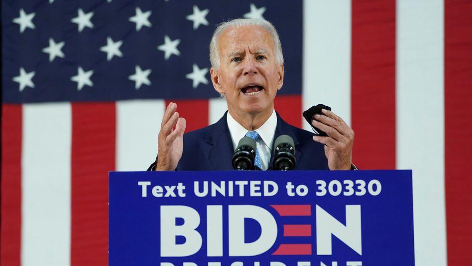 """Demokrat Joe Biden: """"Kein folgenreicheres"""" Problem als den Klimawandel"""