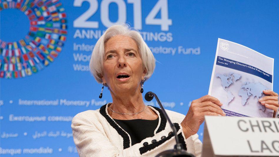 """Lagarde (in Washington): """"Kurzfristig das Wachstum unterstützen"""""""