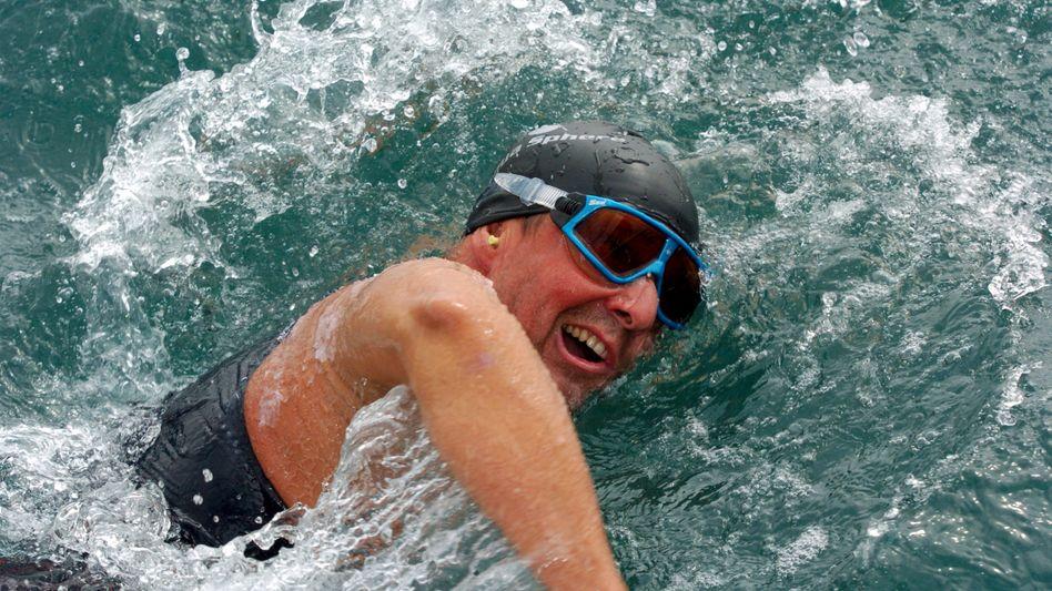 """Schwimmer Wandratsch (Archivfoto): """"Total zufrieden, glücklich, stolz"""""""