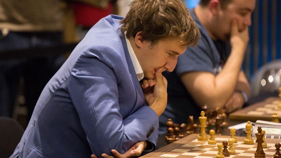 Schach-Großmeister Sergej Karjakin