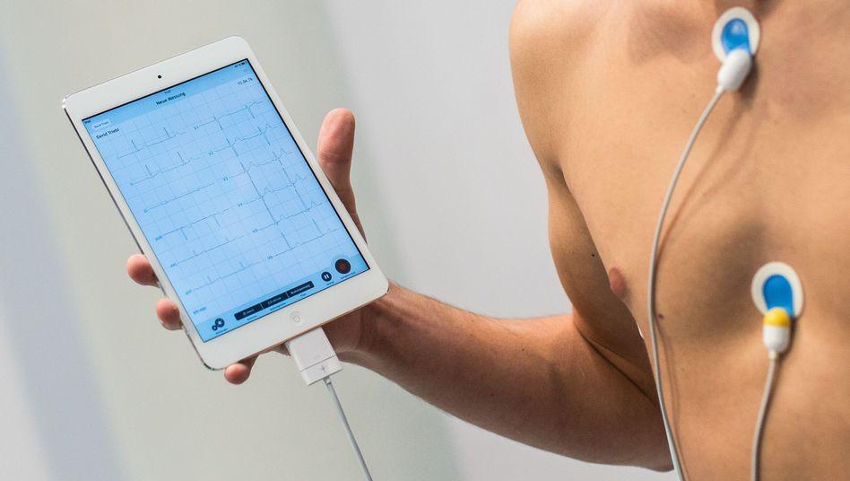 Mobiles EKG-System (Archiv)