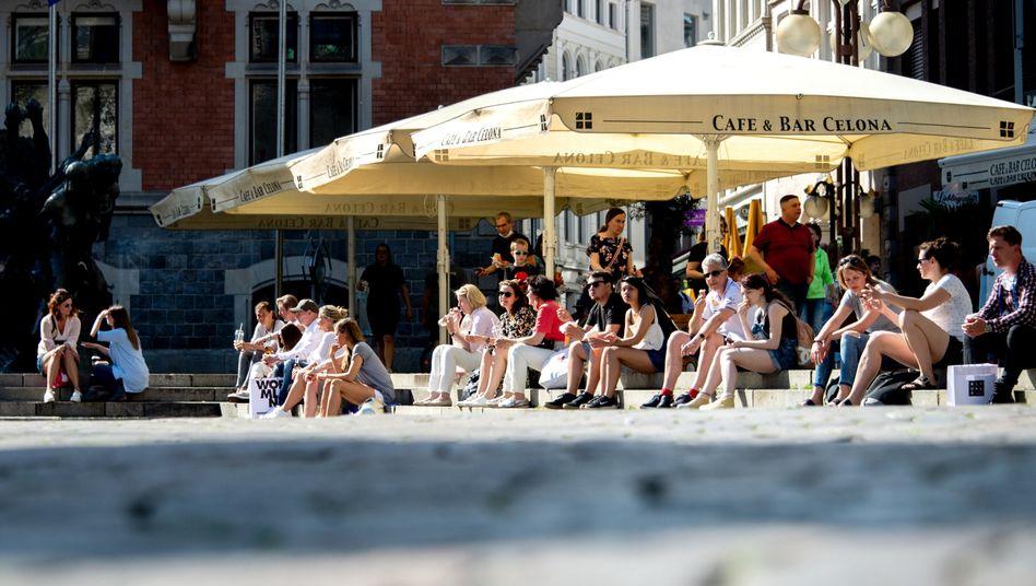 Innenstadt von Oldenburg: In Niedersachsen sind Restaurants wieder geöffnet (Archivbild)