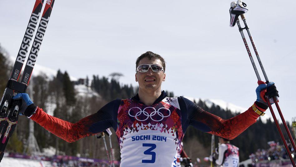 Langlauf-Olympiasieger Legkow: Dreifacherfolg für das russische Team