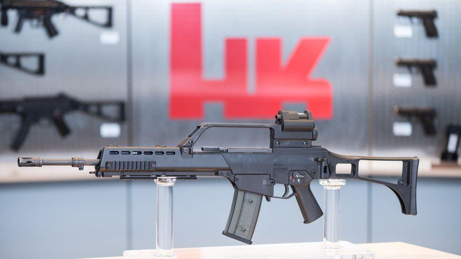 Sturmgewehr G36: Wer ist der Investor, der Heckler & Koch übernehmen will?
