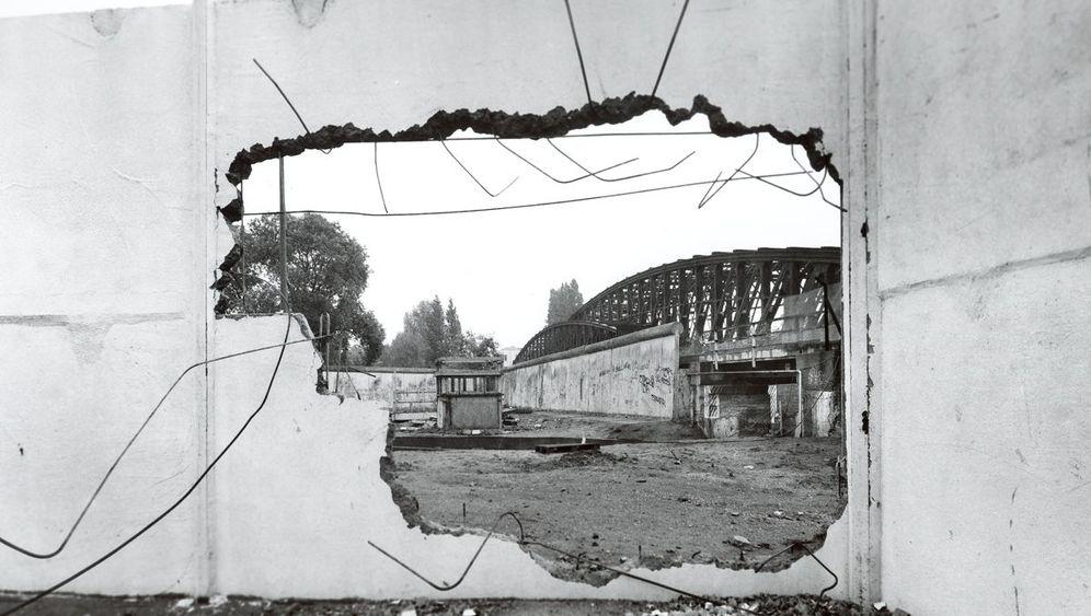 Fotograf Manfred Hamm: Absurdes Mauertheater