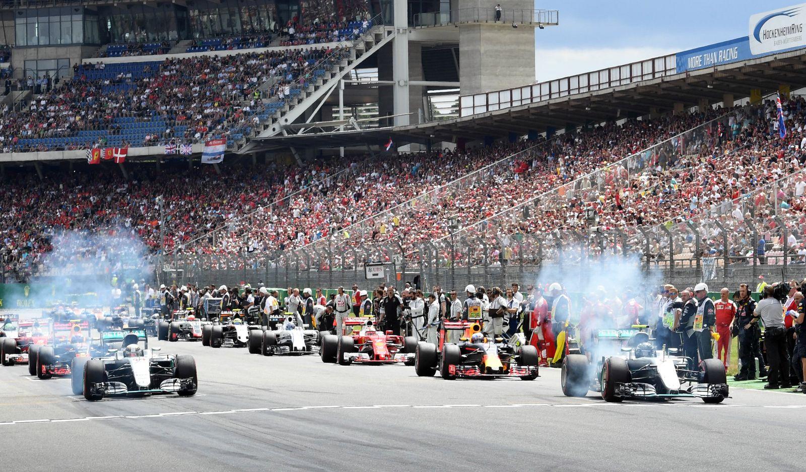 Formel 1 - GP Deutschland