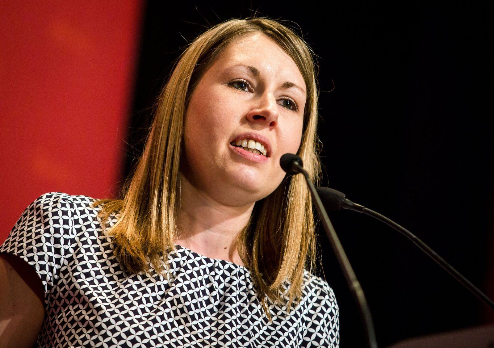 Unbekannte SPD-Politiker/ Luisa Boos