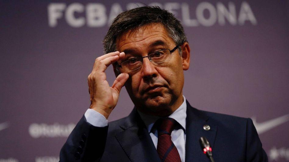 Seit 2014 ist Josep Maria Bartomeu der Präsident des FC Barcelona