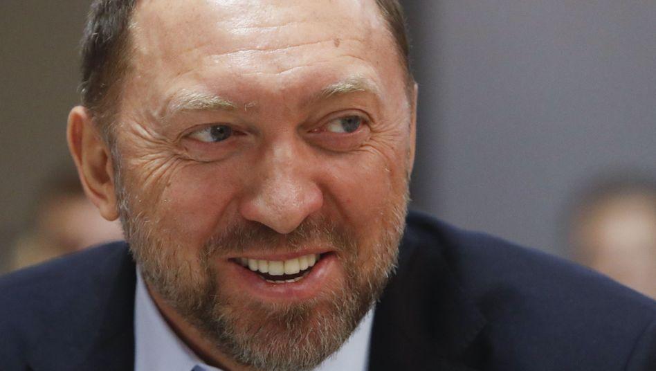 Russischer Oligarch Oleg Deripaska