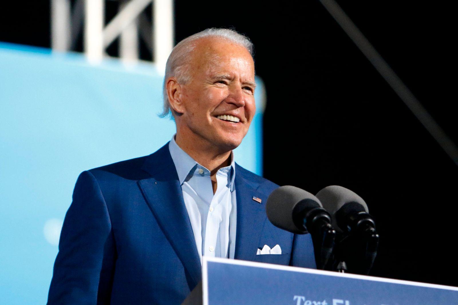 Wahlkampf in den USA · Biden