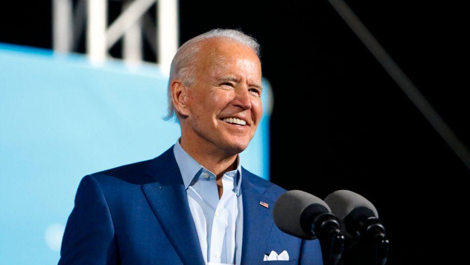 Trumps Rivale Joe Biden