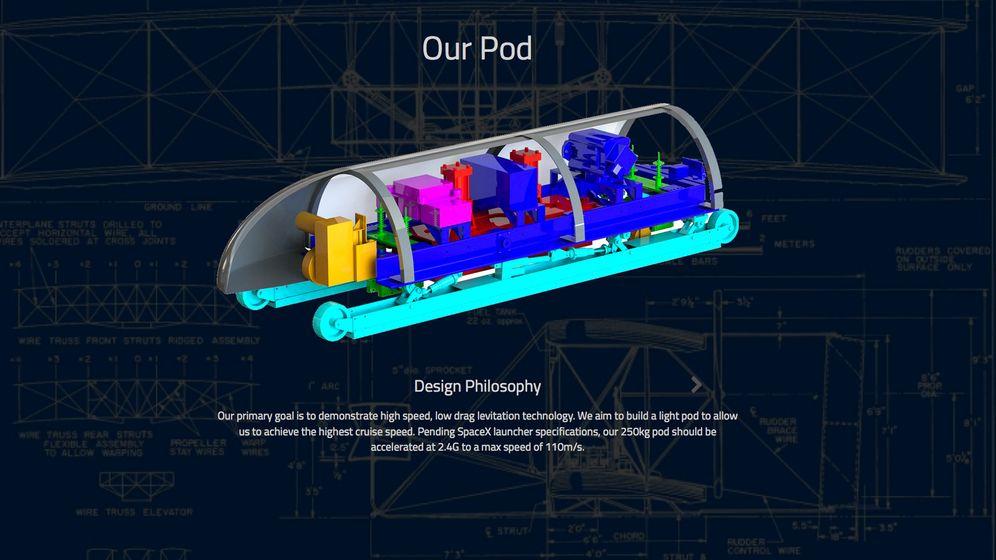 """Hyperloop: """"Beam me forward"""""""