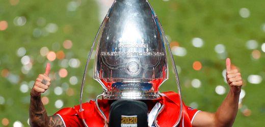 Champions League: Die Feier des FC Bayern München in Bildern