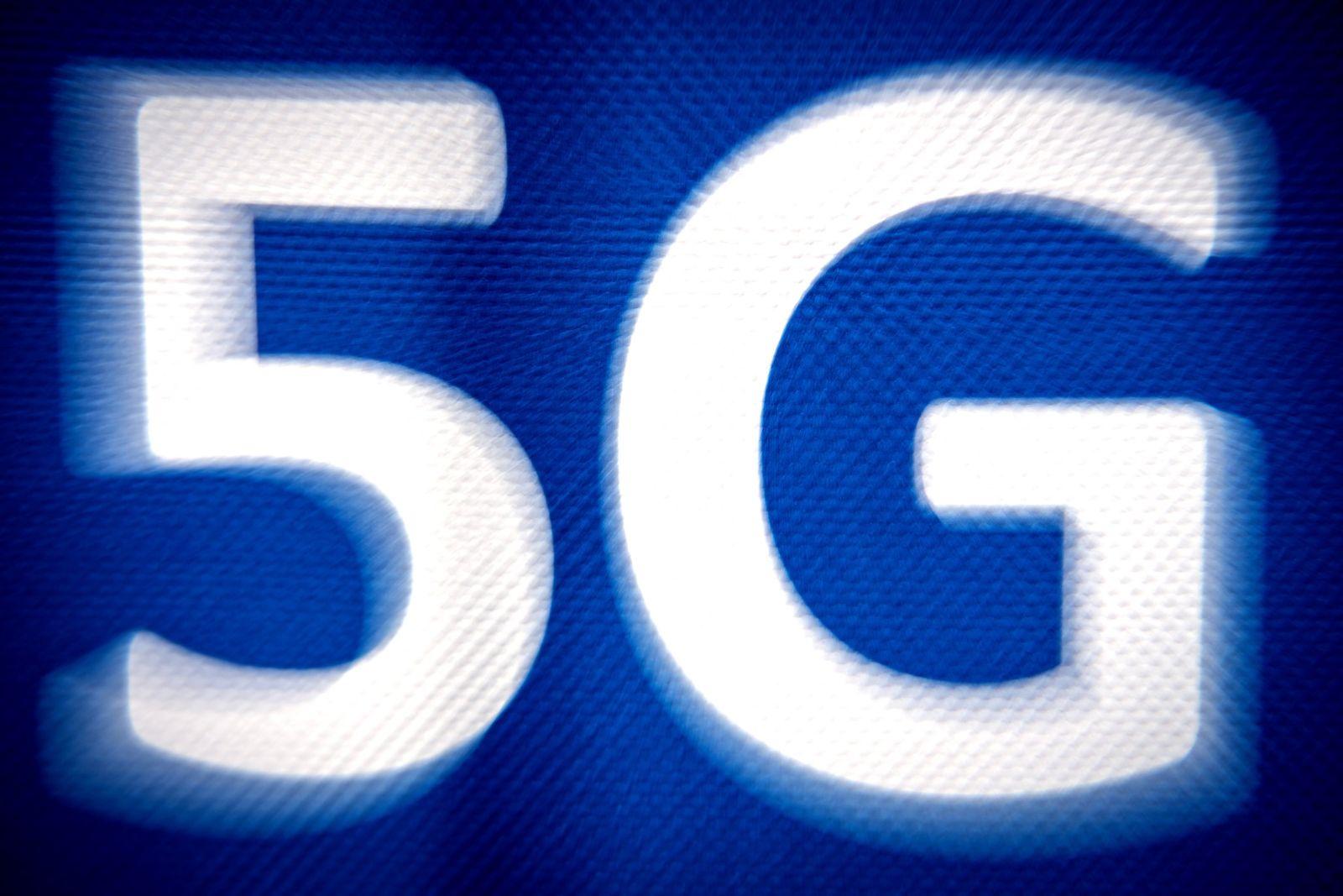 5G Schriftzug