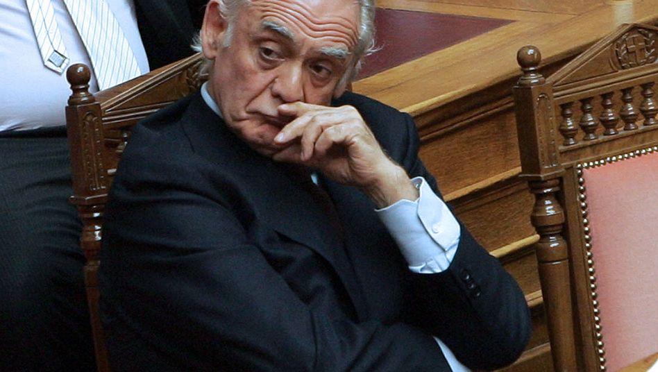 Ex-Verteidigungsminister Akis Tsochatzopoulos: Ungeklärte Geldquellen für Luxushaus