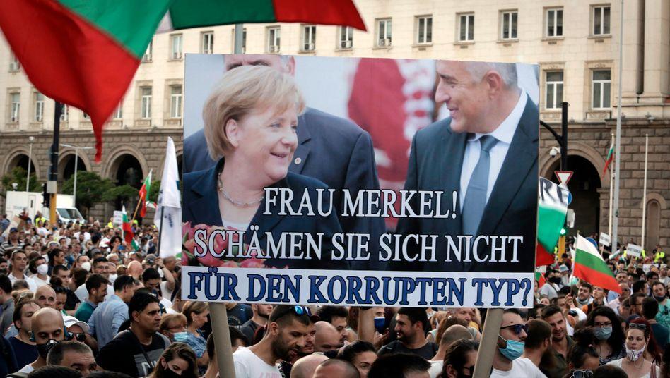 Anti-Borissov-Proteste in Sofia: Der Unwillen simmert vor sich hin