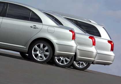 Limousine, Fließheck, Kombi: Für 20.400 bis 28.300 Euro ist Toyotas neues Topmodell zu haben