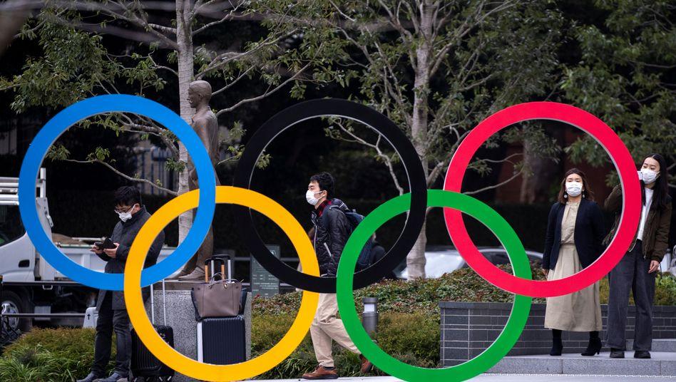 Corona hin oder her - Tokio will die Spiele ausrichten
