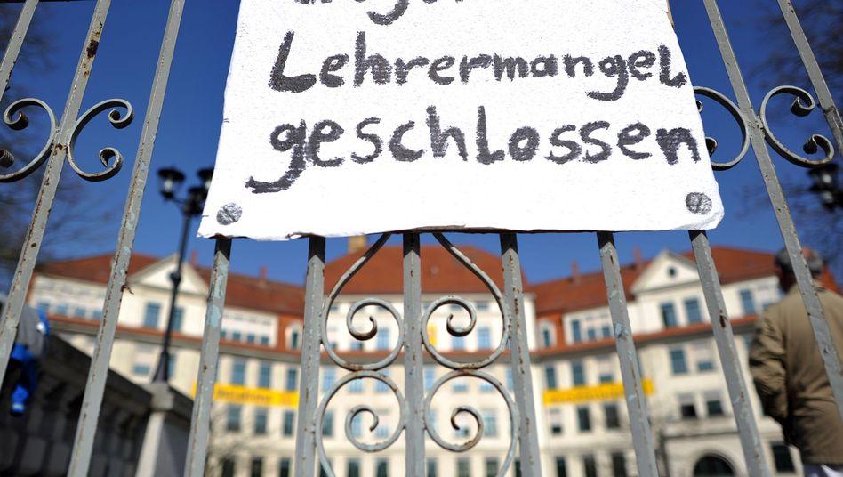 """Schule in Sachsen 2012: """"Politisches Planungsversagen""""?"""