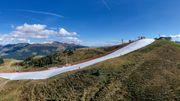 Wintersport im Grünen