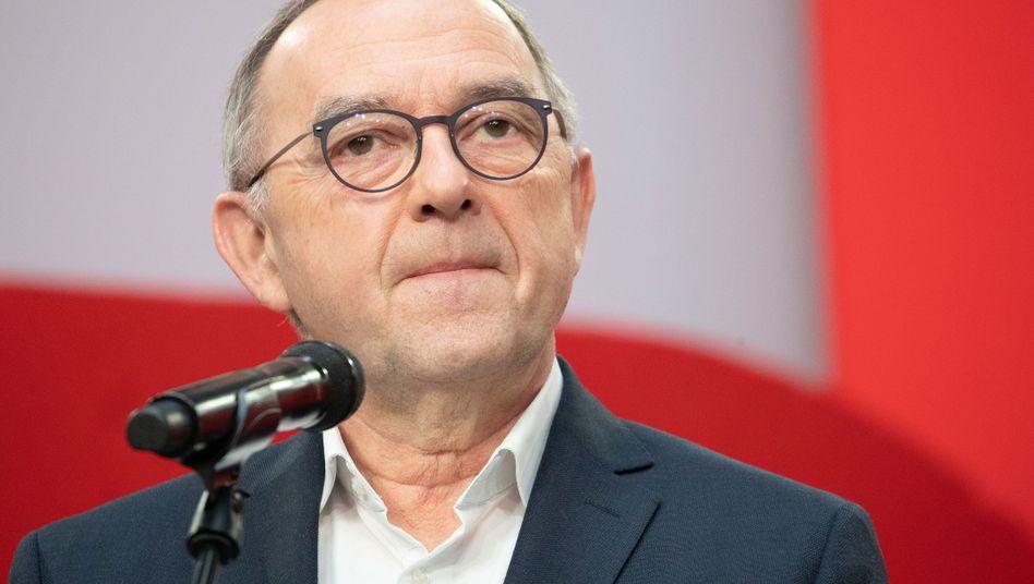SPD-Chef Norbert Walter-Borjans: »Lässt tief blicken, welchen Lobbyisten von konservativer Seite Vorrang eingeräumt wird«