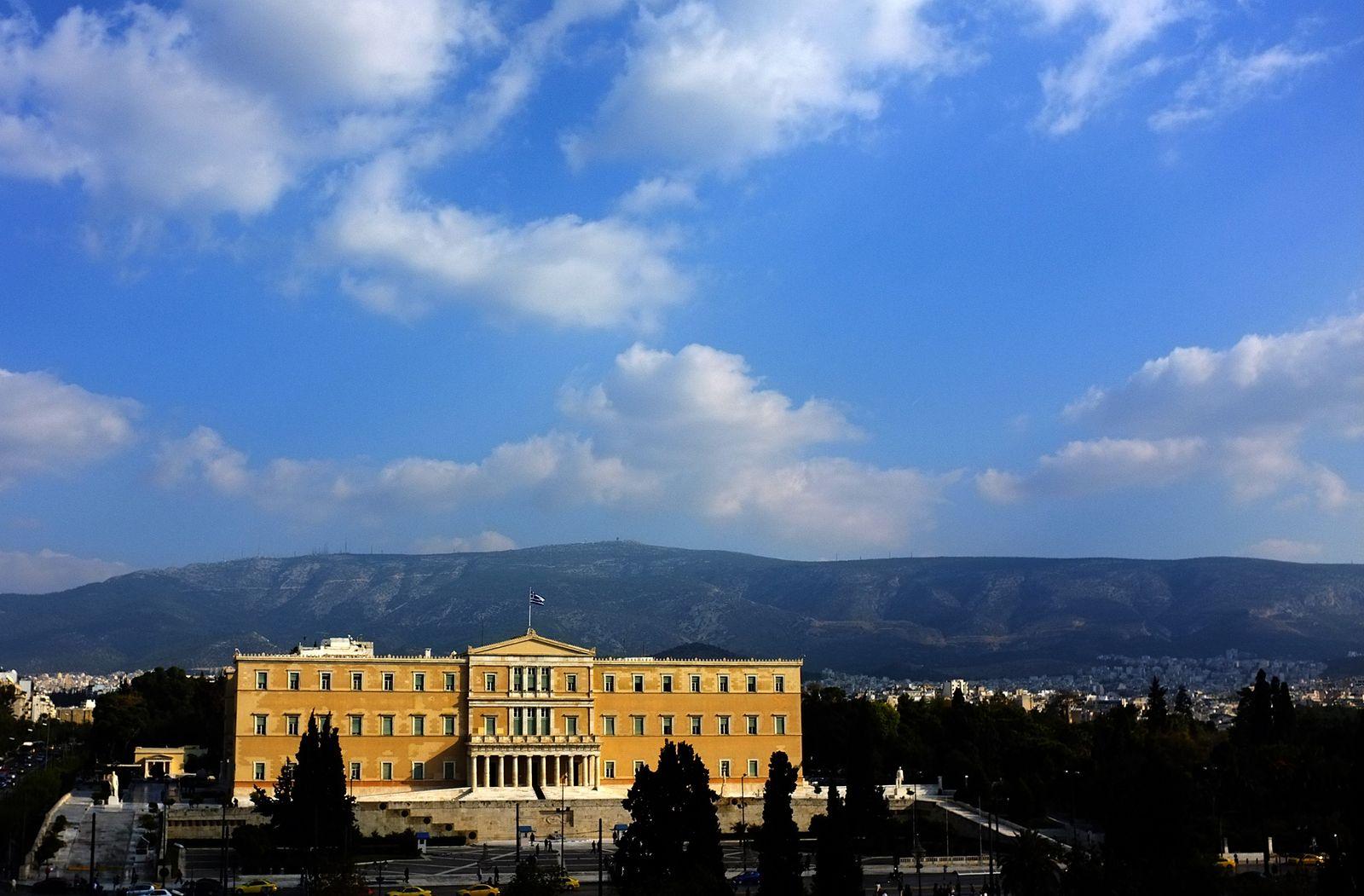 Athen/ Parlamentsgebäude