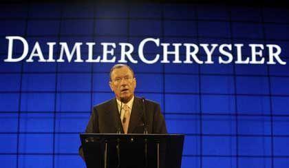DaimlerChrysler-Chef Schrempp: Gehaltsverzicht angeboten
