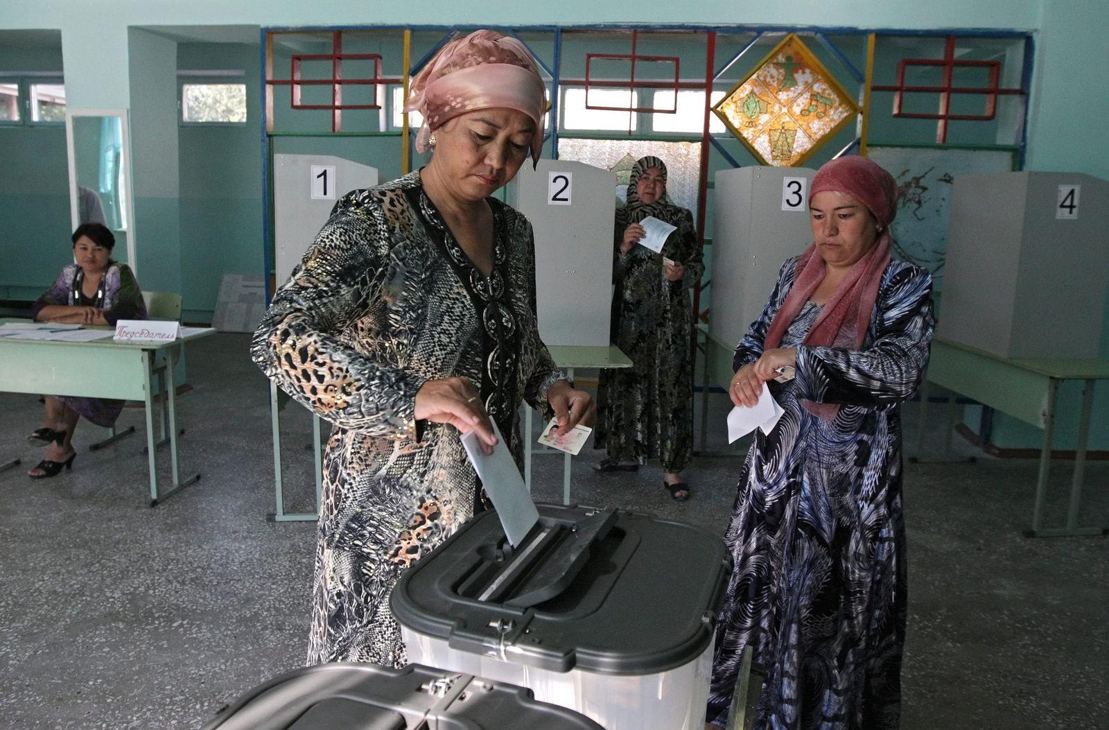 Referendum in Kirgisien