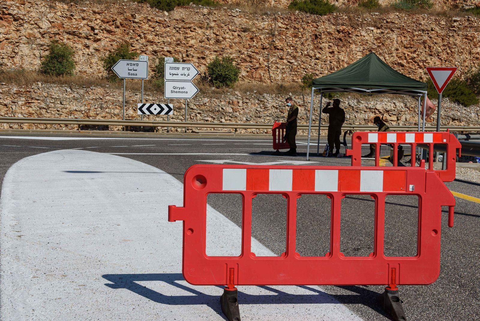 Israel verstärkt Truppen im Norden