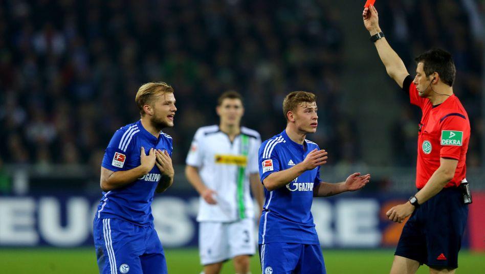 Schalkes Geis (l.): Lange Sperre vom DFB