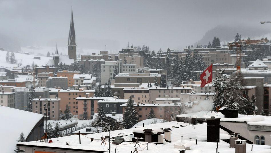 Davos in der Schweiz: Am Dienstag beginnt das Weltwirtschaftsforum
