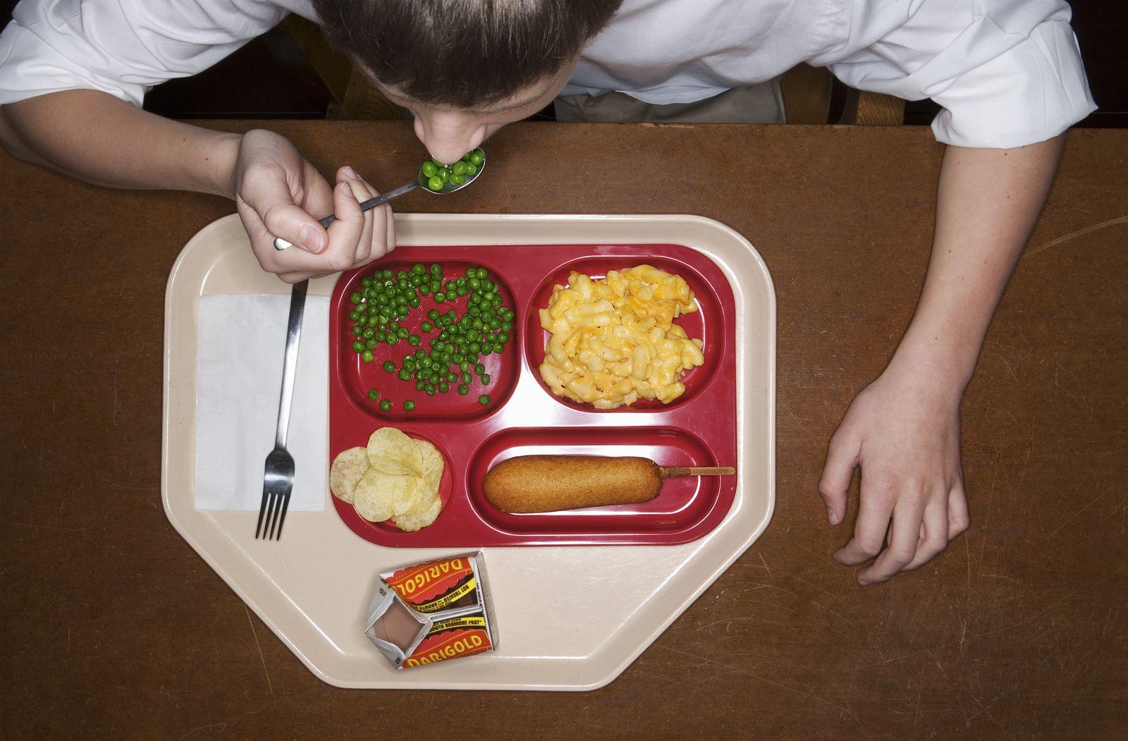 EINMALIGE VERWENDUNG Schulkantine/ Essen