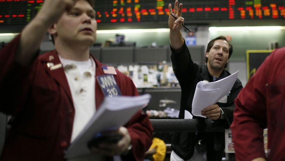 """Währungshandel (in Chicago): """"Epizentrum der Krise in den USA"""""""