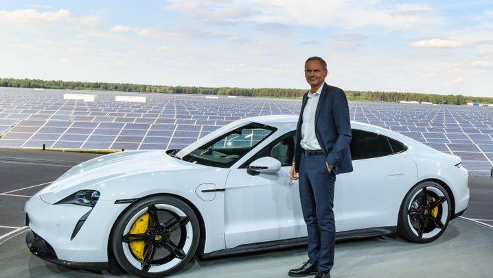 Weltpremiere für den Porsche Taycan: Extremes Elektroauto