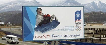 Not all smiles: After the 2014 Olympics close, Sochi will become a domain of Russia's richest -- a world-class ski resort commoners cannot afford.