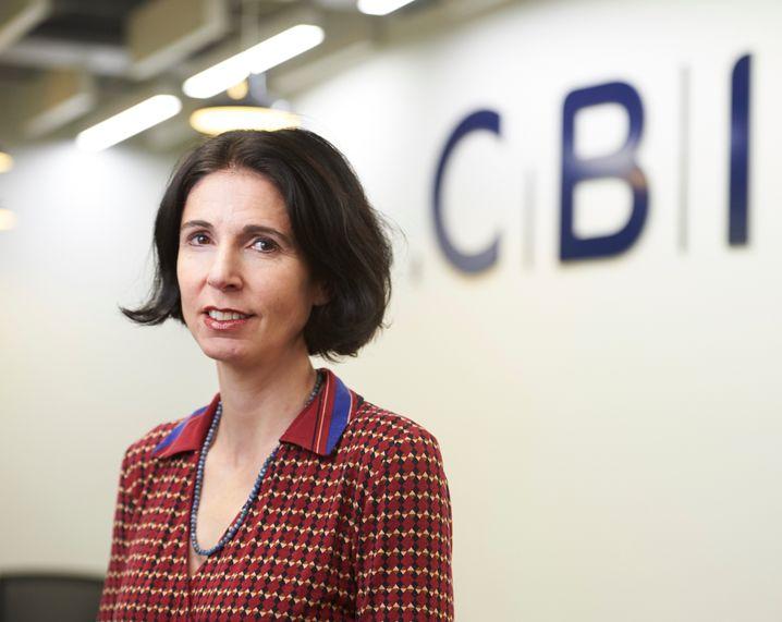 Rain Newton-Smith ist Chefökonomin des britischen Industrieverbands CBI, der 190.000 britische Firmen vertritt