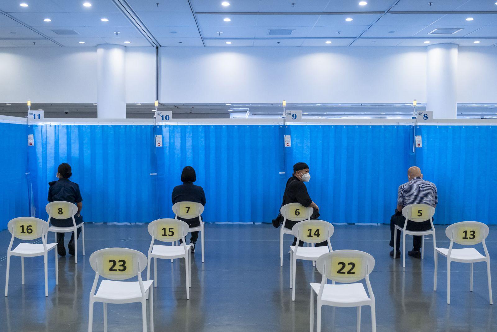 COVID-19 vaccination drive in Hong Kong