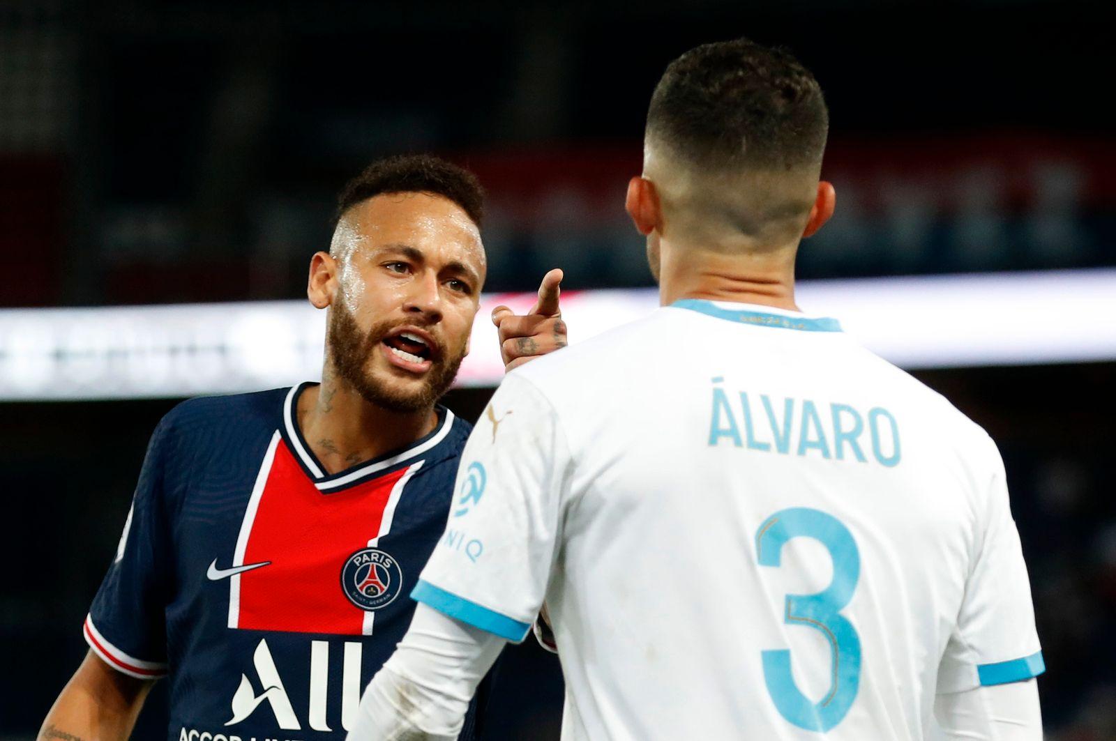 PSG vs Olympique Marseille: Fünf Rote Karten und Rassismus-Vorwürfe - DER  SPIEGEL