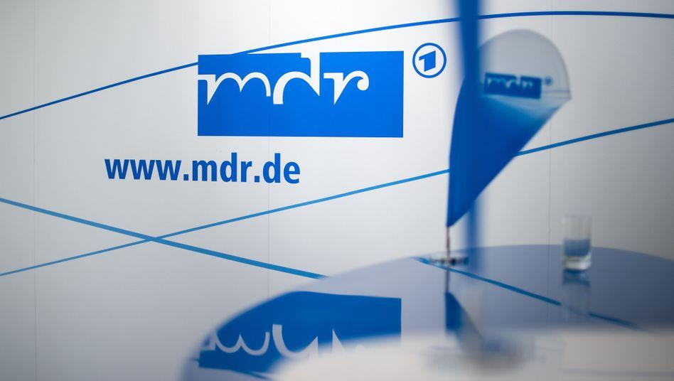 Logo des Mitteldeutschen Rundfunks (MDR)