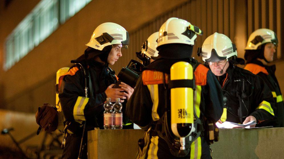 Chemieunfall: Polizei räumt TU Dresden