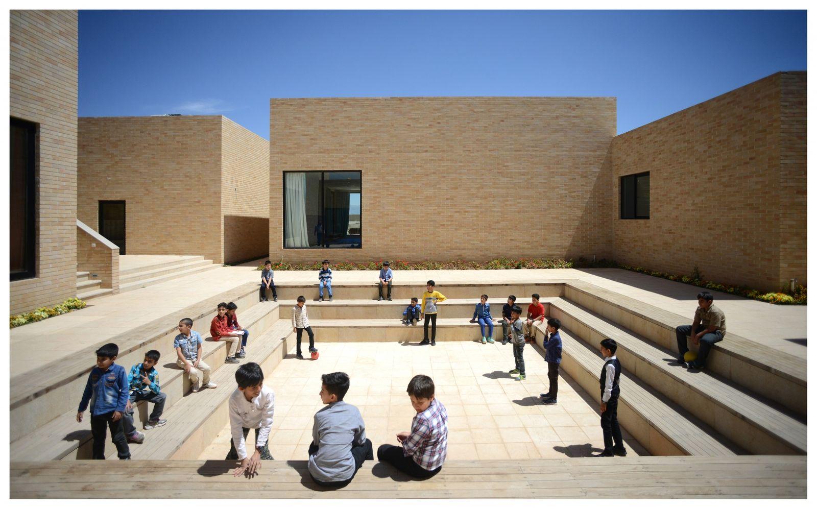 Dezeen Awards 2020 Noor E Mobin Primary School by FEA Studio