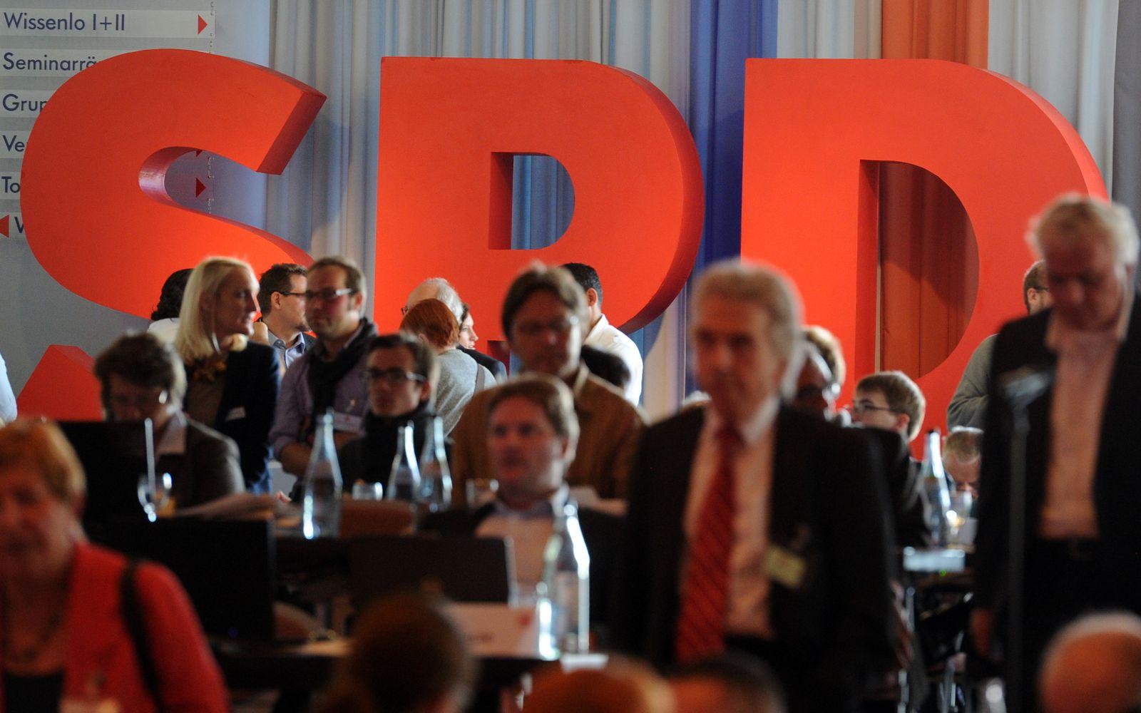 SPD/ Mitgliederzahlen