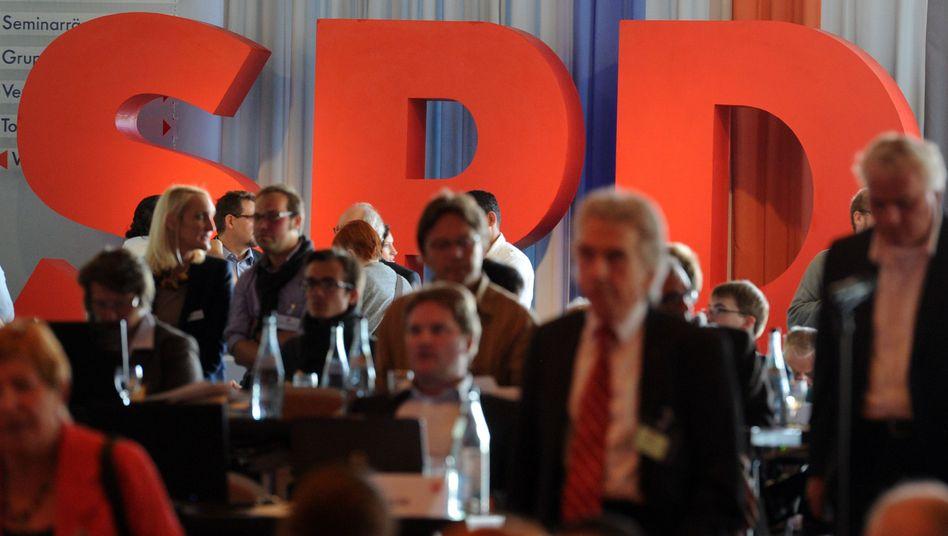 Sozialdemokraten (auf Parteitag in Wiesloch im September 2012): SPD bleibt mitgliederstärkste Partei